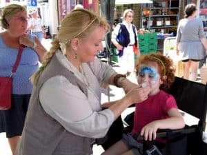 41. Face Painting